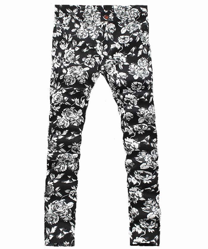 06501d731eda Get Quotations · Super Big Size Men Flower Pants 2015 New ArrivalBrand  Loose Men s Pants Floral Print Fashion Casual