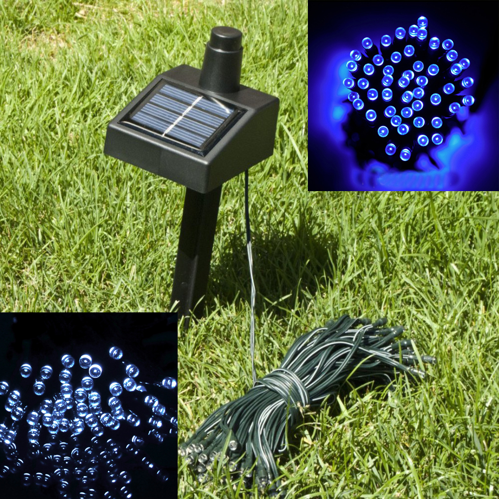 17M New Solar Power 100pcs LED Outdoor Electric Fairy