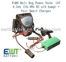 NI-MH 12V 4.2Ah battery pack for Anton Bauer Power Strap