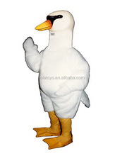 Hola white color goose costume for adult/mascot costume
