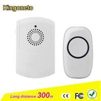 Factory price wireless doorbell M series push button / smart home doorbell for elder and hard of hearing