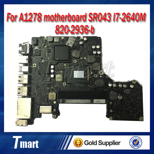 for MacBook Pro A1278 SR043 I7-2640M 820-2936-b year 2011