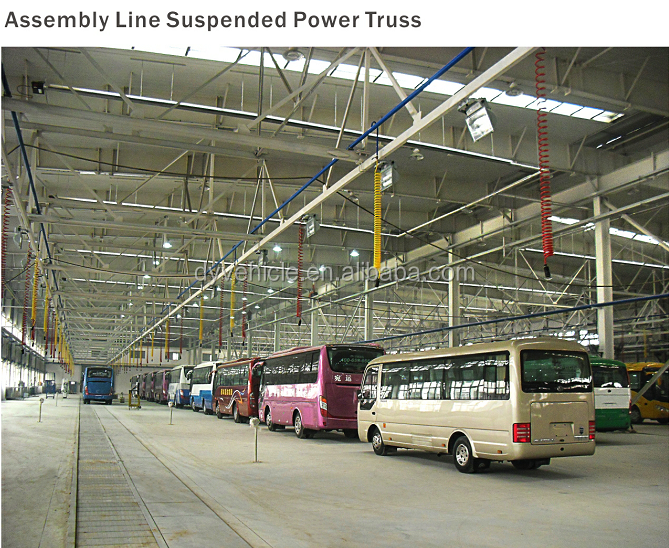 Car Assembly Line Equipment Overhead Conveyor Line