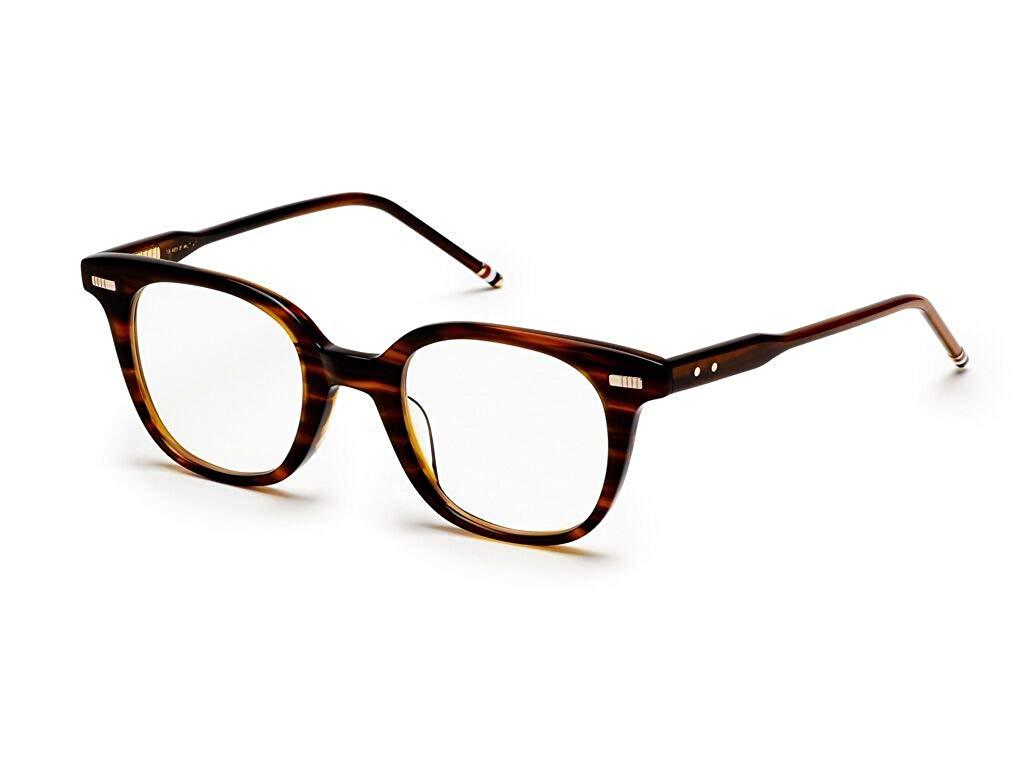 90b68b053ab Get Quotations · THOM BROWNE TB 405 B-WLT Walnut Eyeglasses