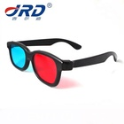 Popular Plastic Red Blue Anaglyph 3d Glasses for 3d Pictures Viewing