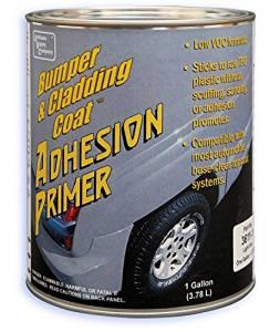 Bumper and Cladding Adhesion Primer, Low VOC, Dark Gray, Gallon