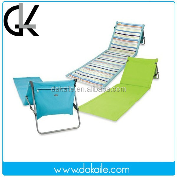 2017 New type foldable rubber Beach mat with pillow
