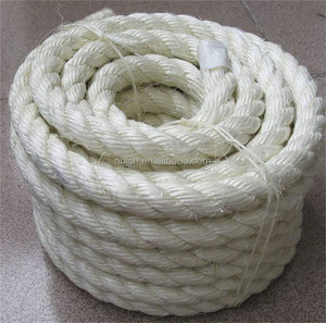 Sisal Rope 6MM Bleached White Twine Rope Cord Sisal Ropes