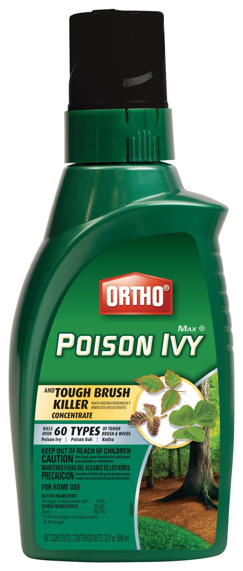 Ortho MAX Poison Ivy And Tough Brush Killer 32 Oz