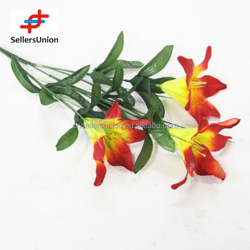No.1 yiwu exporting commisssion agent wanted 57cm brilliant color decorative artificial table flowers
