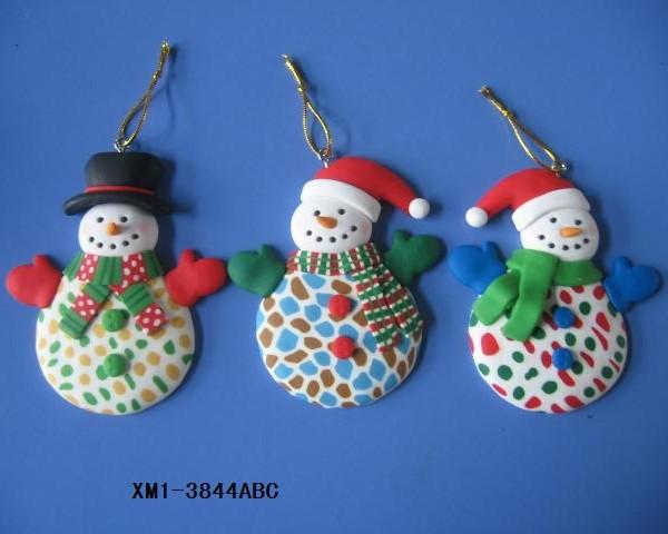 2018 item christmas decoration polymer clay christmas ornaments - 2018 Item Christmas Decoration Polymer Clay Christmas Ornaments