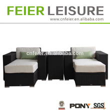 high quality environmental friendly rattan sofa set for garden