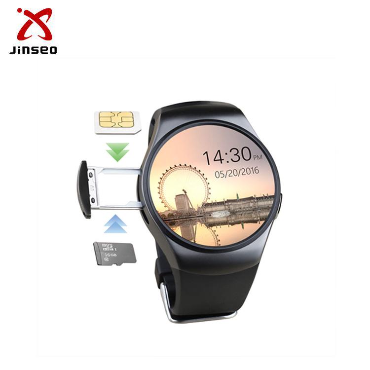 Round Kw18 Smartwatch Relogio Inteligente With Motion Detection