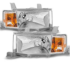 CPW (tm) 2004 2005 2006 Scion xB bB Headlights HeadLamps Replacement Driver + Passenger