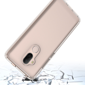 Clear TPU Gel Phone Case For Alcatel 7, Transparent Acrylic Hard Case Cover For Alcatel 7 Folio