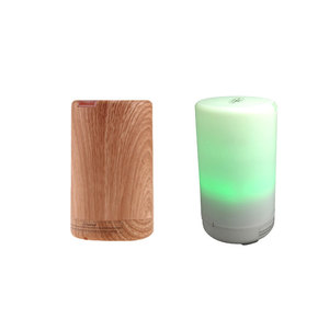 2018 Factory cheap price 70 ML Electric Ultrasonic Mini USB LED car aroma oil led diffuser for home