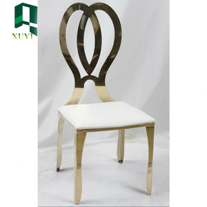 Fashion hot sale genuine leather dining chair high quality
