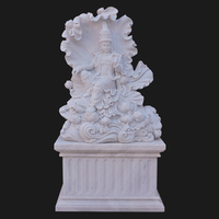 Wholesale antique kuan yin marble large buddha statues for sale