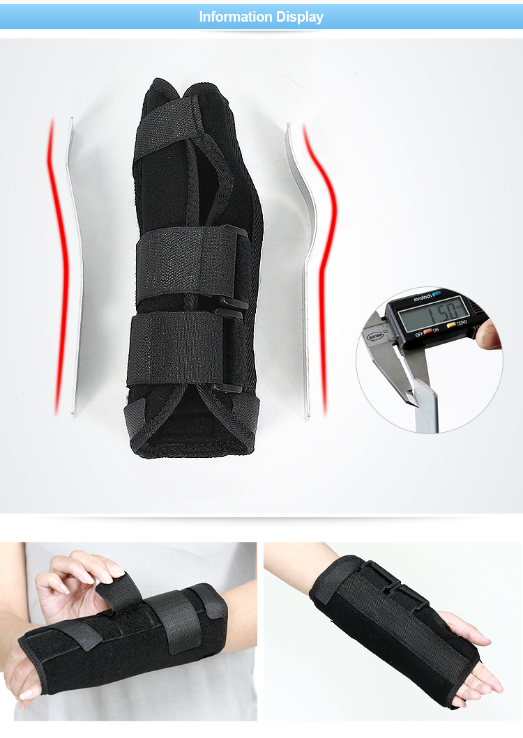 Pain relief hand brace wrist splint band ce for carpal tunnel