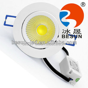 Australian standards 12/24V LED recessed COB down light with SAA certificate Lifud driver