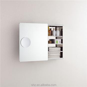 Sliding Door Bathroom Mirror Cabinet