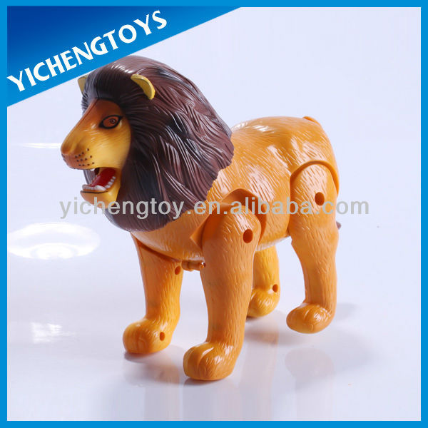 battery operated wild lion toys