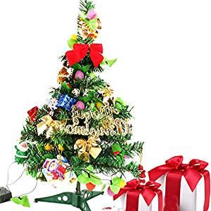 GAOYU The Christmas Tree 60Cm Mini Encryption Decorated Christmas Tree Ornaments Gift Small Christmas Tree With Strobe