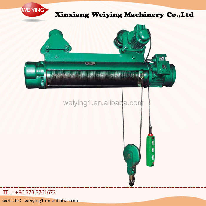 Manufacturers selling 15ton electric hoist cd 1 wire rope electric hoist