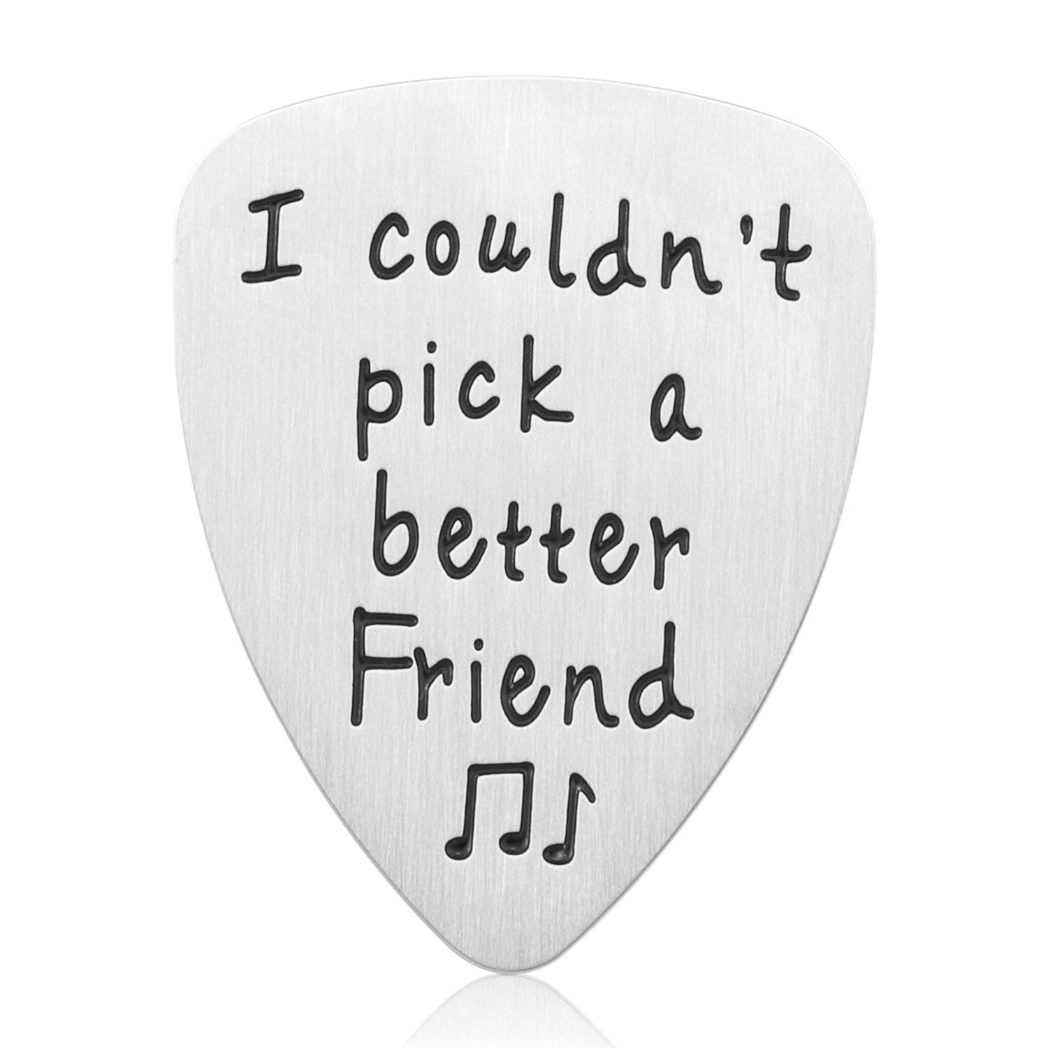 Get Quotations Best Friend Gifts Guitar Pick I Couldn T A Better