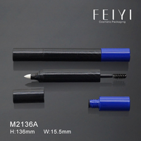 Wholesale practical double-end custom plastic empty mascara tube