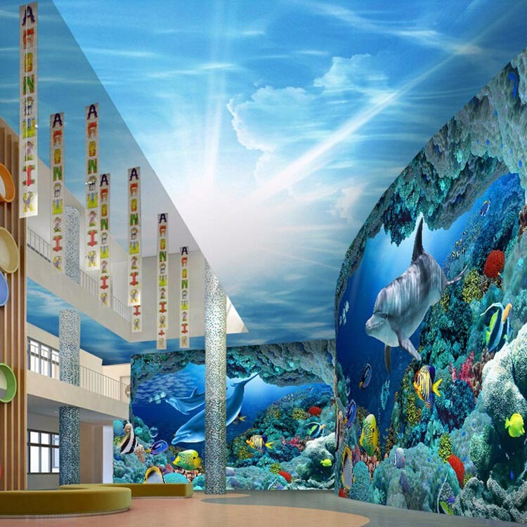 3d Wallpaper Of The World S Undersea Wallpaper Is Custom