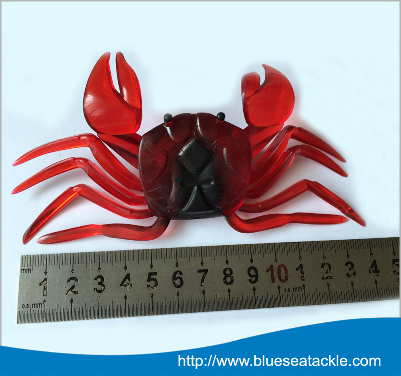 China Factory Crab soft plastic fishing lures