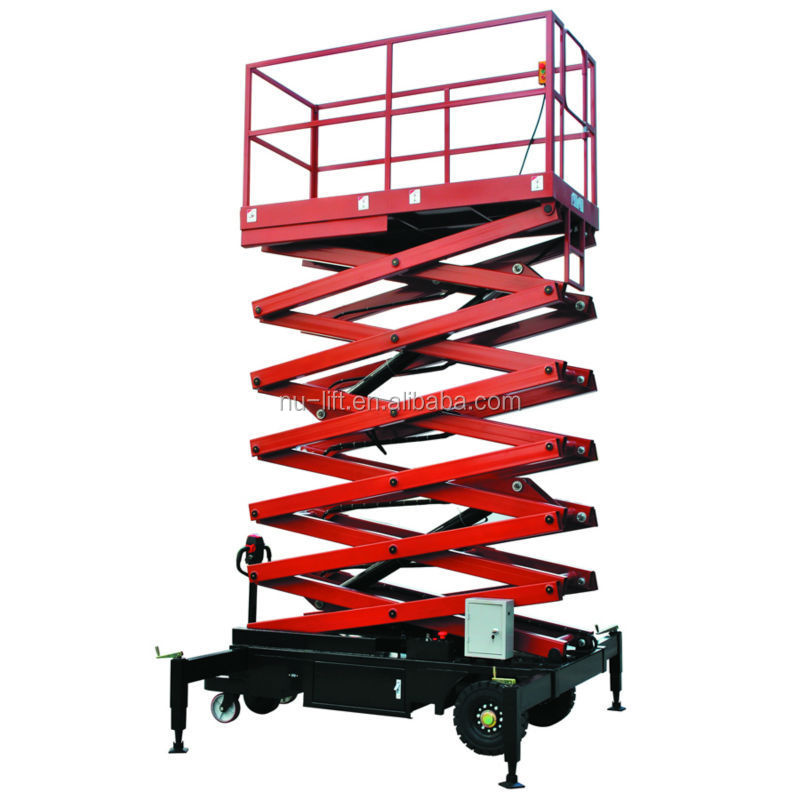 Hydraulic Scissor Type Work Platform Lift