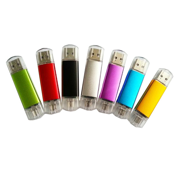 promotional 1gb otg usb drive memory disk colorful