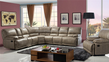 New Modern Living Room Leather Sectional Sofa L Shape Corner Sofa Cover  Designs Sf3671 - Buy Living Room Furniture Sofa,Leather Sofa Arm  Covers,Living ...