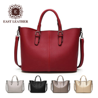 E2416 Simple style 2018 PU leather tote women hand bags