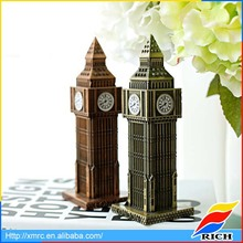 2017 OEM personalized Big Ben miniature resin building model souvenir gifts