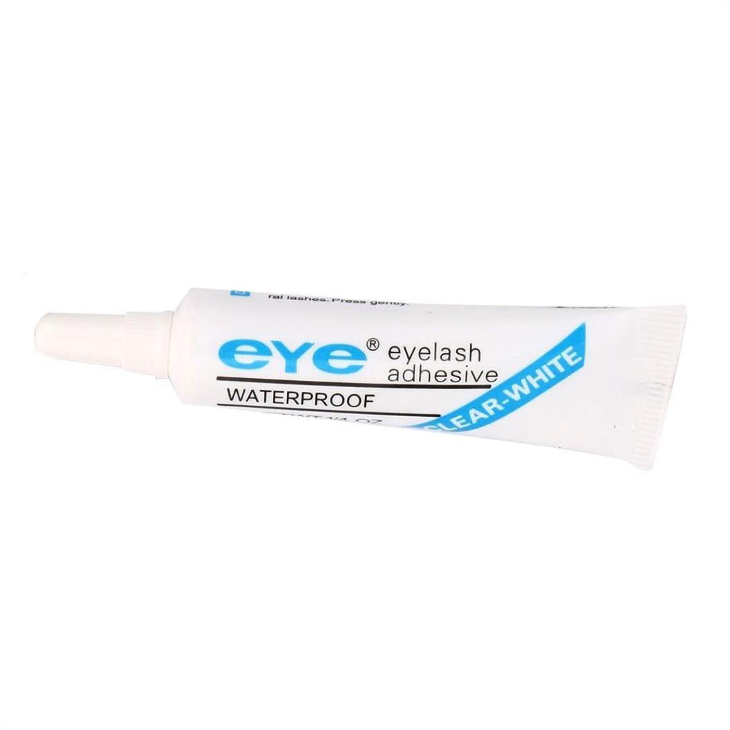 8e0a9566ed4 Get Quotations · 2-Pack of EyeLash Adhesive Glue White/Clear, for strip  false eyelash (