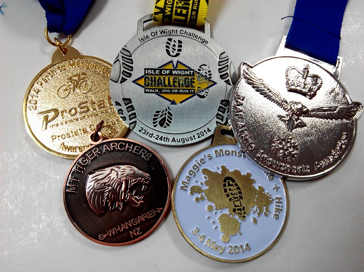 4mm thickness 88.9mm size custom gymnastics medals with 3D <strong>design</strong>