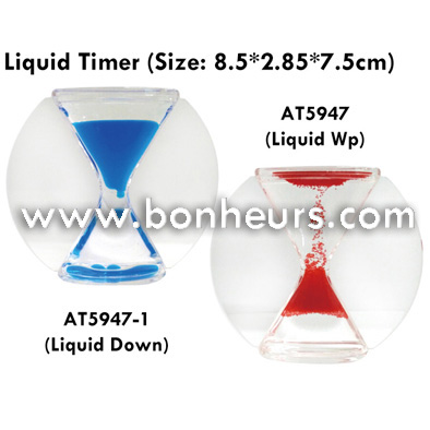 New Novelty Toy Large Hour Glass Liquid Down Sand Timer