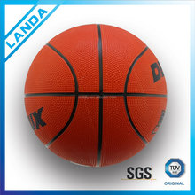 promotional cheapest rubber basketball ball