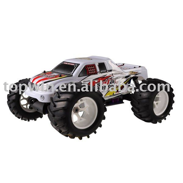 1:8 Scale 4WD Nitro Gasoline RC Cart Hobby Powered Off-Road Monster Trucks(TaiWan SH21cxp /AM Engines)