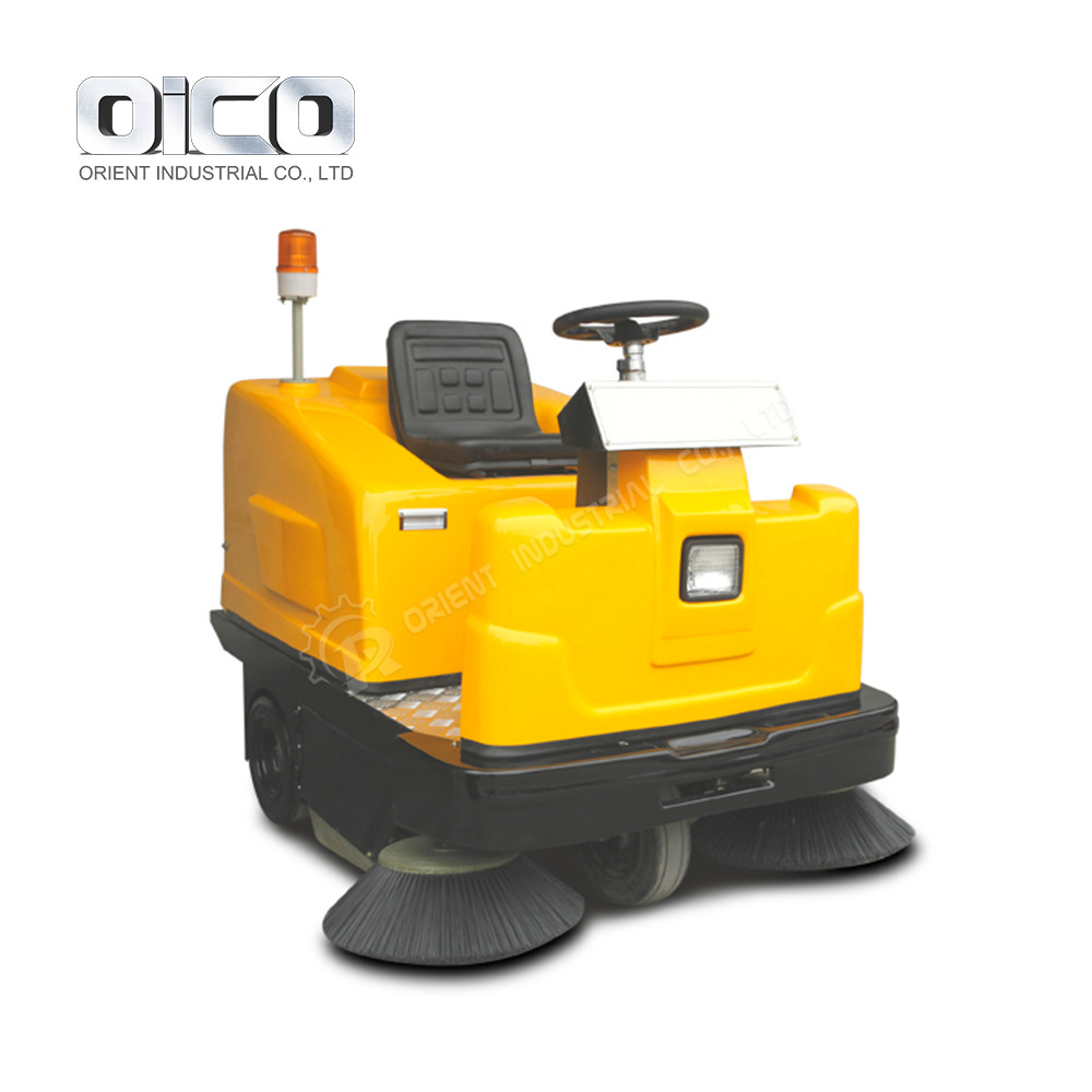 C350 Floor Washing Machine Ride-On Suction Sweeper Ride On Machine Road Cleaning Tools For Sale