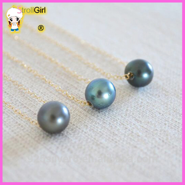 Factory sale various 18k gold chinese pearl necklace