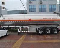 light weight design aluminum diesel fuel tanks trailer