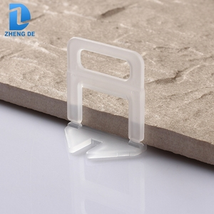 China customizable plastic spacer tile system leveling clips
