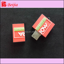 Promotional/branded/bulk Silicon customized PVC usb flash drive/usb gift/usb stick