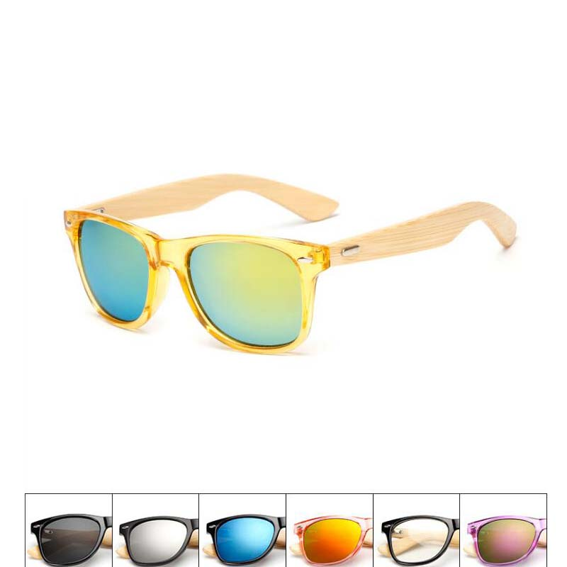 2018 Newest OEM Skateboard Wooden and Bamboo Sunglasses with Polarized lens