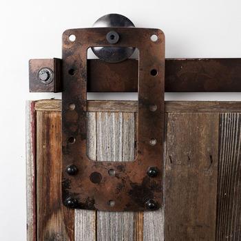 8ft centerpiece barn door hardware double door sliding latch buy