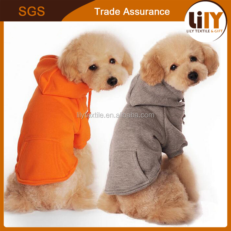 winter warm fleeces material dog hoodie for wholesale